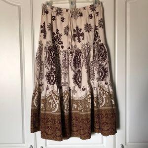 Dresses & Skirts - Boho Midi Skirt
